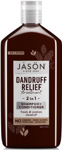Jasons Natural Organic Dandruff Relief 2 in 1 Treatment